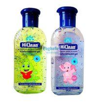 HiClean kézfertőtlenítő gél 80 ml KIDS
