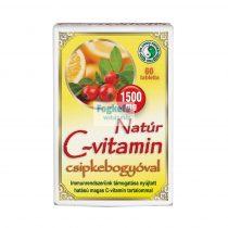 Natúr C-vitamin 1500 mg csipkebogyóval - 60db