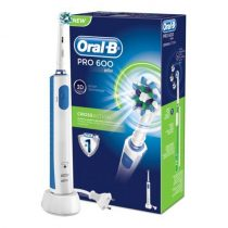 Oral-B Pro 600 Cross Action elektromos fogkefe 1 db fogkefe fejjel (D16.513)