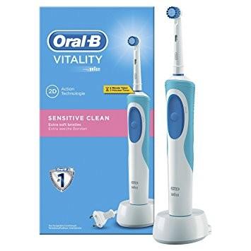 Oral-B Vitality Sensitive Clean D12.513S Időmérős Fogkefe