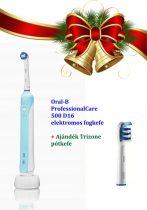 Oral-B ProfessionalCare 500 D16 elektromos fogkefe Karácsonyi csomag