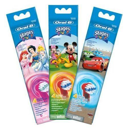 Oral-B EB 10-4 Kids Electro gyerek pótkefe 4 db-os