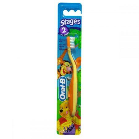 Oral-B Stages 2 Disney gyermek fogkefe (2-4 éves korig)