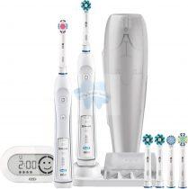 Braun Oral-B Pro 6000 D36575.5x elektromos fogkefe 7+1 pótkefével+ AJÁNDÉK és INGYENES szállítás