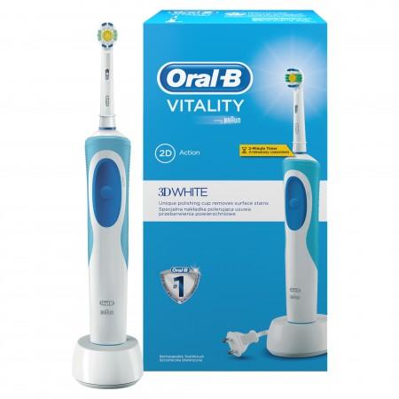 Braun Oral-B D12.513W Vitality White időmérős