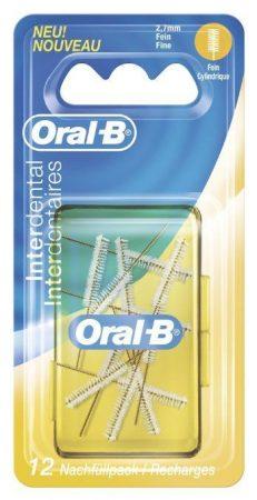 "Oral-B Interdental ""Fine"" pótkefe 2,7mm 12 db"