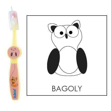 Ovis fogkefe: BAGOLY - rózsaszín