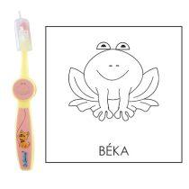 Ovis fogkefe: BÉKA - rózsaszín