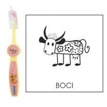 Ovis fogkefe: BOCI - rózsaszín