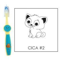Ovis fogkefe: CICA2 - kék