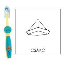 Ovis fogkefe: CSÁKÓ - kék