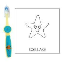 Ovis fogkefe: CSILLAG - kék