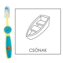 Ovis fogkefe: CSÓNAK - kék
