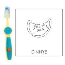Ovis fogkefe: DINNYE - kék