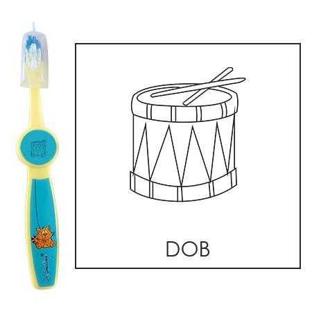 Ovis fogkefe: DOB - kék