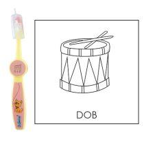 Ovis fogkefe: DOB - rózsaszín