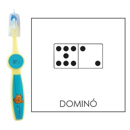 Ovis fogkefe: DOMINO - kék