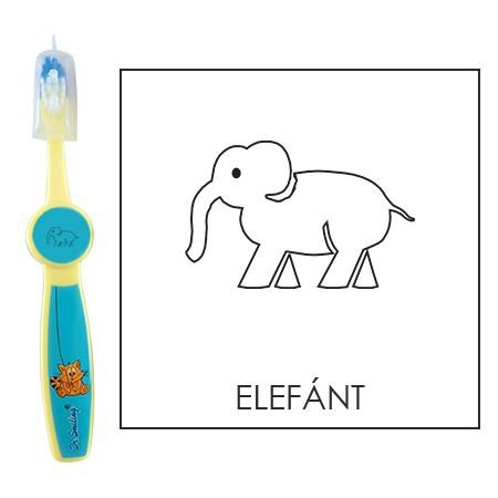Ovis fogkefe: ELEFÁNT - kék