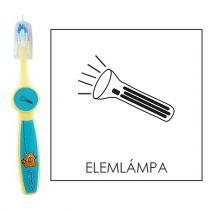 Ovis fogkefe: ELEMLÁMPA - kék