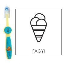 Ovis fogkefe: FAGYI - kék