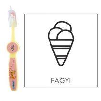 Ovis fogkefe: FAGYI - rózsaszín