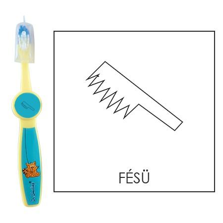 Ovis fogkefe: FÉSŰ - kék