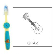 Ovis fogkefe: GITÁR - kék