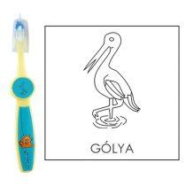 Ovis fogkefe: GÓLYA - kék