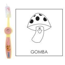 Ovis fogkefe: GOMBA - rózsaszín