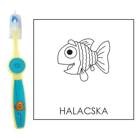 Ovis fogkefe: HALACSKA - kék