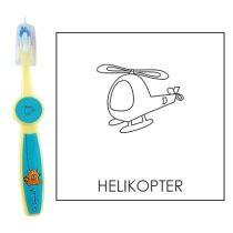 Ovis fogkefe: HELIKOPTER - kék