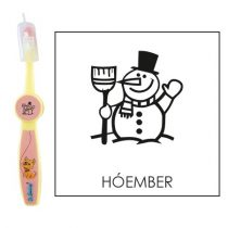 Ovis fogkefe: HÓEMBER - rózsaszín