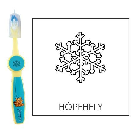 Ovis fogkefe: HÓPEHELY - kék