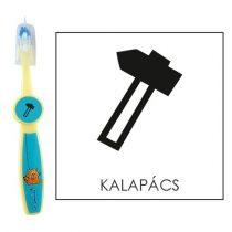 Ovis fogkefe: KALAPÁCS - kék