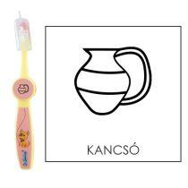 Ovis fogkefe: KANCSÓ- rózsaszín