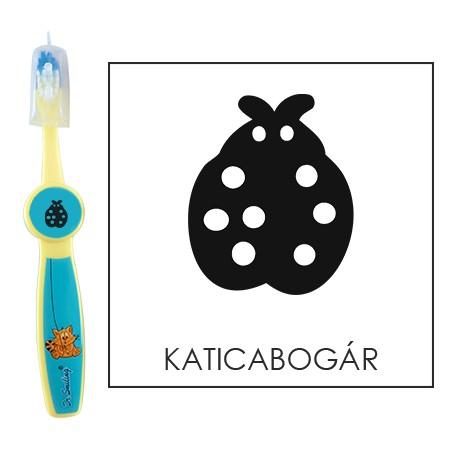 Ovis fogkefe: KATICABOGÁR - kék