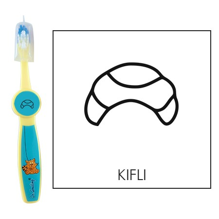 Ovis fogkefe: KIFLI - kék
