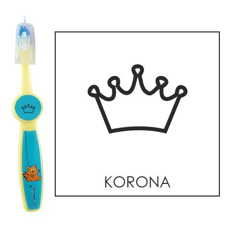 Ovis fogkefe: KORONA - kék