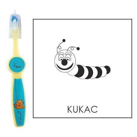 Ovis fogkefe: KUKAC - kék