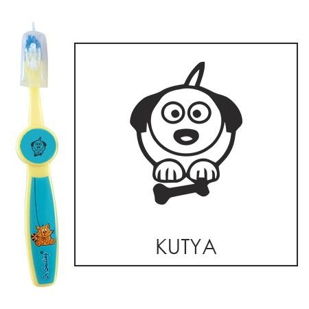 Ovis fogkefe: KUTYA - kék