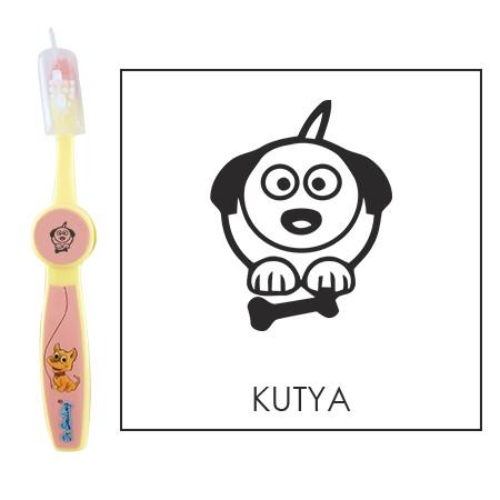 Ovis fogkefe: KUTYA - rózsaszín