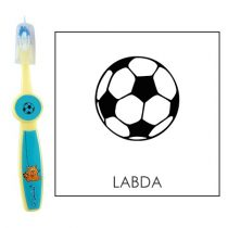 Ovis fogkefe: LABDA (FOCILABDA) - kék