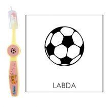 Ovis fogkefe: LABDA (FOCILABDA) - rózsaszín