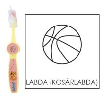 Ovis fogkefe: LABDA (KOSÁRLABDA)- rózsaszín