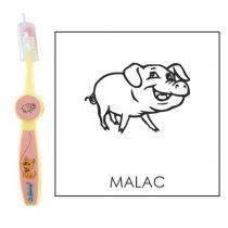 Ovis fogkefe: MALAC - rózsaszín