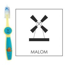 Ovis fogkefe: MALOM - kék