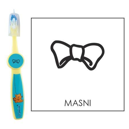 Ovis fogkefe: MASNI - kék