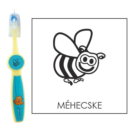 Ovis fogkefe: MÉHECSKE - kék