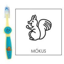 Ovis fogkefe: MÓKUS - kék