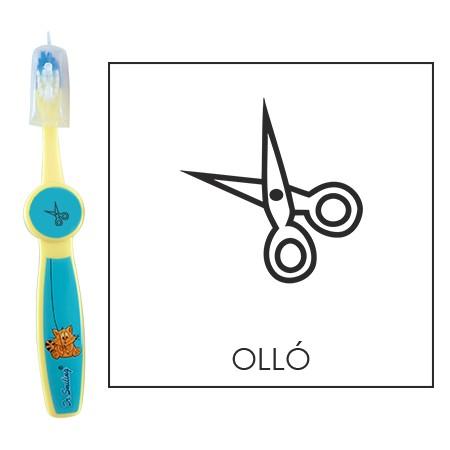 Ovis fogkefe: OLLÓ - kék